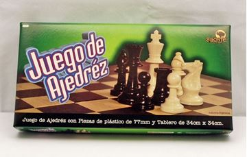 Imagen de Ajedrez 34x34 Fichas Plasticas