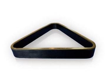 Imagen de Triangulo Plástico Negro