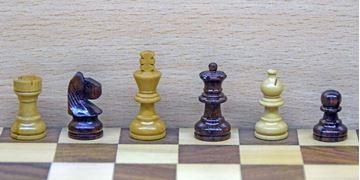 Imagen de Ajedrez Caja Tablero 20cm mod. G110