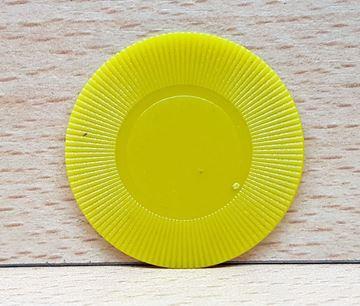 Imagen de Ficha 2.5gr. sin valor Amarillo