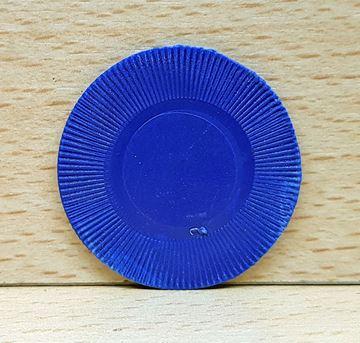Imagen de Ficha 2.5gr. sin valor Azul