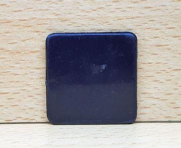 Imagen de Fichas cuadradas 35 mm x 100 Unidades NEGRAS