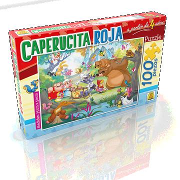 Imagen de Puzzle x 100 Piezas - Caperucita Roja